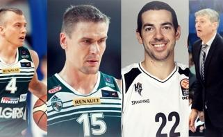 Penktadienį Žalgiris TV eteryje - R.Javtokas, L.Lekavičius, A.Bagatskis ir T.Rochestie