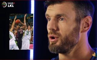 K.Lavrinovičius - apie istorinę pergalę prieš JAV 2004-ųjų olimpinėse