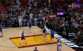 """NBA Top 10 viršūnėje - R.J.Barretto dėjimas bei pavyzdinė """"Heat"""" ataka"""