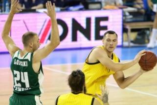"""Fantastiškai žaidęs J.Mačiulis pataikė lemiamą metimą, AEK nukovė """"Panathinaikos"""""""