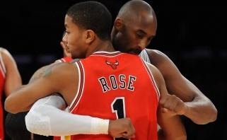 D.Rose'as: noriu daryti tai, ką darė Kobe