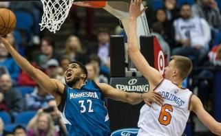 NBA naujoku vienbalsiai išrinktas K.Towsonas, latvis K.Porzingis - antras