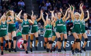 """Žalgirietės tapo oficialiomis """"Eurobasket 2017"""" šokėjomis"""