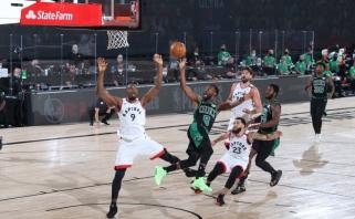 "NBA čempionams – skaudi pamoka: ""Celtics"" dominavo visas 48 minutes"