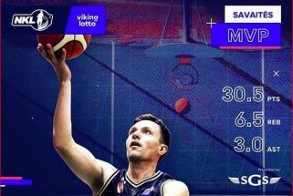"""""""Gargždų"""" vedlys M.Ruikis - NKL savaitės MVP"""