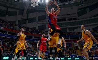 """CSKA nepaliko vilčių be lyderio likusiems """"Chimki"""""""