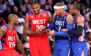K.Durantas aplenkė D.Wade'ą ir K.Bryantą, K.Thompsonas - M.Ginobili