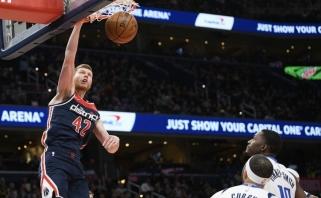 """""""Wizards"""" latvis nutarė nežaisti NBA sezono pratęsime"""