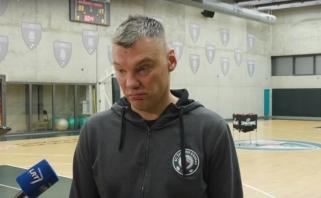 """""""Olympiacos"""" stiprybes išskyręs Š.Jasikevičius: """"Svarbiausia – kautis"""""""