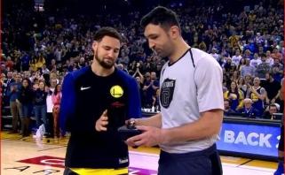 Z.Pačulijai įteiktas NBA čempiono žiedas