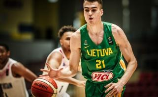 Lietuvos vyrų rinktinės dvyliktuke - du naujokai