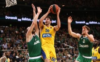 """""""Maccabi"""" sezoną baigs be traumą patyrusio gynėjo"""