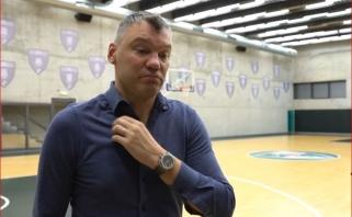"""Eurolygos lyderius įvertinęs Š.Jasikevičius realiai žvelgia į situaciją: esame """"Žalgiriukas"""""""