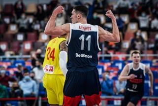 """CSKA žaidėjų vedami rusai užsitikrino vietą """"Eurobasket 2022"""" (rezultatai)"""