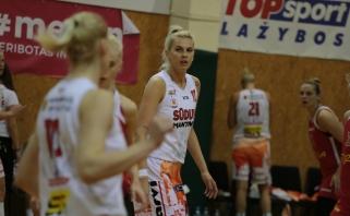 L.Pikčiutės sezono mačas pažymėtas pergale LMKL pusfinalio starte