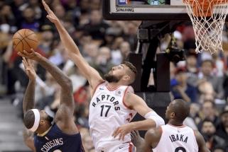NBA: J.Valančiūno klubo pergalė ir ypatingas J.Hardeno pasirodymas (rezultatai)