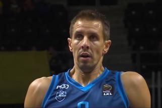 Vyriausias LKL žaidėjas M.Lukauskis nekabina sportbačių ant vinies