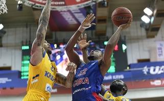 Rusijos krepšinio milžinų dvikovoje triumfavo CSKA