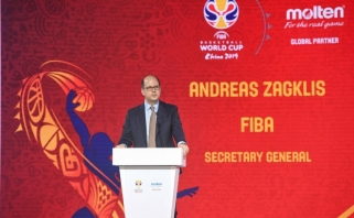 FIBA vadovas: nesiųsime savo žaidėjų ten, kur nesiųstume vaikų
