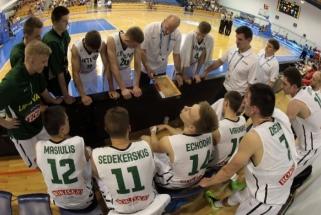 Lietuviai pralaimėjo graikams ir kovos dėl bronzos medalių
