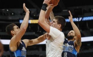 """NBA naktis: """"Bulls"""" proveržis, dūris """"Wizards"""" ir įsismaginęs serbas"""