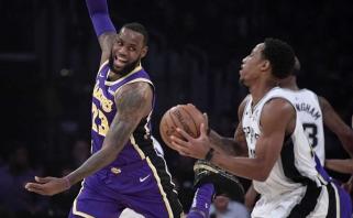 """NBA: George'o ir Jameso žygdarbiai bei """"Warriors"""" dominavimas prieš """"Cavaliers"""""""