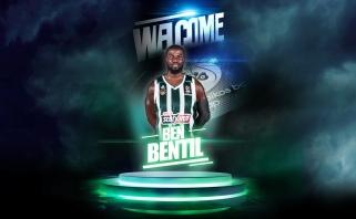 """""""Panathinaikos"""" priekinę liniją sustiprino B.Bentilas"""