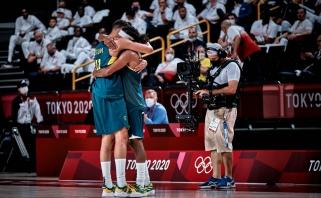 Millsas pranoko Dončičių ir nukalė Australijai olimpinius bronzos medalius