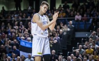 NBA naujokų biržos sąrašuose – du estai