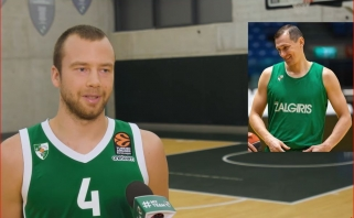 Žalgirietis L.Lekavičius – apie idealą brolį ir juokingus komandos senbuvius