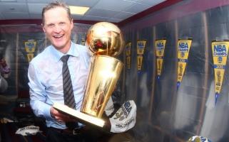 """""""Warriors"""" treneris S.Kerras: prieš ketverius metus buvome greičiausi lygoje, dabar - per vidurį"""