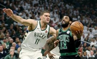 """""""Celtics"""" Rytų konferencijos pusfinalio seriją pradėjo pergale Milvokyje"""