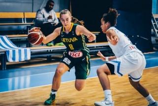 Aštuoniolikmetės Europos čempionatą baigė sumindžiodamos graikes