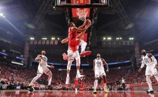 """J.Hardeno vedami """"Rockets"""" užbaigė """"Jazz"""" pasirodymą atkrintamosiose"""