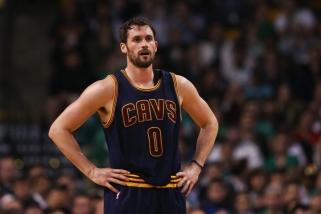 """Liūdna žinia """"Cavaliers"""": čempionai ilgam prarado K. Love'ą"""
