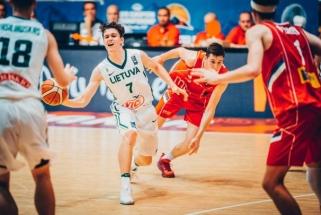 Aštuoniolikmečiai nusileido serbams ir Europos čempionate kovos dėl bronzos