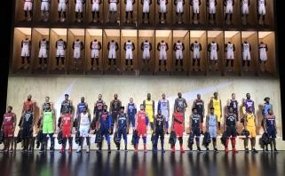 NBA prisatatė visų komandų alternatyvias aprangas 2017-218 metų sezonui