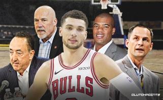 """""""Bulls"""" lyderis Z.LaVine'as žino, ką daryti, kad patektų į """"Visų žvaigždžių"""" rungtynes"""
