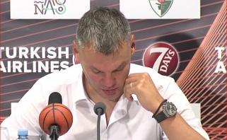 """Š.Jasikevičių įskaudino baskų trenerio kaltinimai: kol būsiu """"Žalgiryje"""", kovosiu prieš tokius dalykus"""