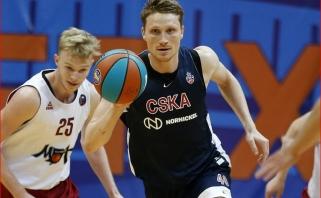 Grigonis kukliai prisidėjo prie CSKA pergalės pusšimčiu taškų