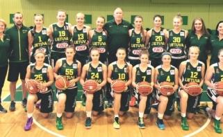 Šešiolikmetės vėl baltarusių neįveikė - pasirengimą čempionatui baigė nesėkme