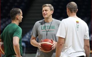 Rinktinės treneris pažadėjo: sirgaliai jau Belgrade išvys J.Valančiūno ir D.Sabonio duetą