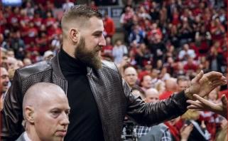 """Paskata NBA finale palaikyti """"Raptors"""": į čempiono žiedą pretenduoja ir J.Valančiūnas"""