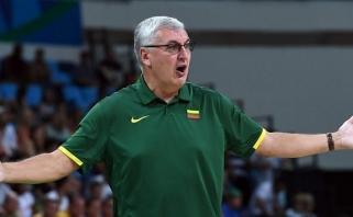J.Kazlauskas taško Lietuvos rinktinėje dar nepadėjo (interviu)