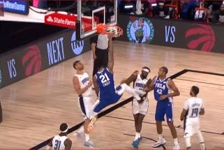 "Monstriški J.Embiido ir J.Hayeso dėjimai - NBA ""Top 10"" viršūnėje"