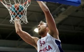R.Kurtinaičio auklėtiniai namie nusileido CSKA