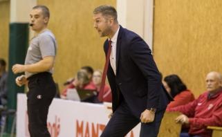 NKL čempionų treneris prieš lyderių mūšį: puolimu esu patenkintas, gynyboje einame gera linkme