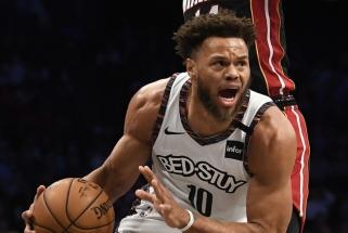 """""""Nets"""" naujokas pakartojo NBA tritaškių antirekordą"""