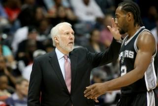 """""""Spurs"""" lyderis K.Leonardas praleis sezono pradžią, sugrįžimo laikas - neaiškus"""