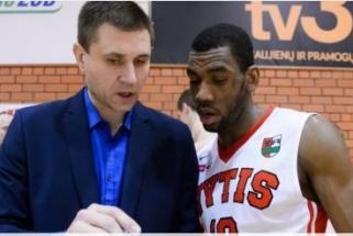 """""""Vyčio"""" treneris V.Sirvydis: bronzos nori visi - dėl to klausimų nėra (video reportažas)"""